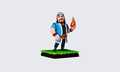 Clash Royale Clash Of Clans Wizard Figure  Official Collectible