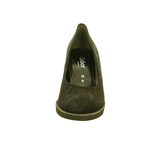 Gabor 52.100.87 - Zapatos de vestir de Piel para mujer negro negro 37