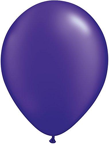 Qualatex 43784 Pearl Quartz Purple Latex Balloons, 11