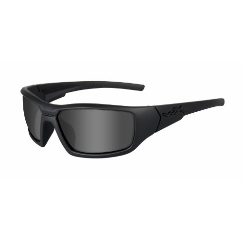 Wiley X Censor Ops Sunglasses, Grey/Black, Polarized Smoke - Ops Sunglasses Black