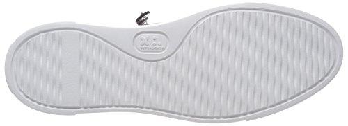Weiß Mujer para Schmenger und Schuhmanufaktur Silber Zapatillas Big Alluminio Kennel Sohle PwSvqYWXFw