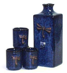 Dragonfly Sake Set by Japanese Sake Sets