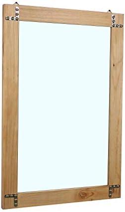 Womio Rustic Bathroom Mirror
