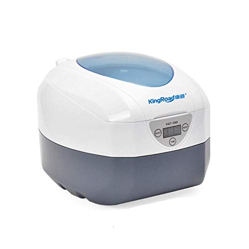 Ultrasonic 750mL Cleaner Portable for Jewelry Watches Watches 50W Denture Glass Parts (110V)