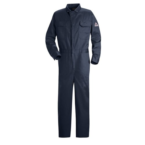 Bulwark Deluxe Contractor Coverall, Excel FR, NAVY, RG46 (46 Fr Contractor Coverall)