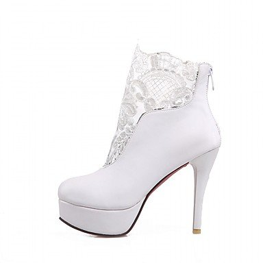 RTRY Women'S Boots Spring Fall Winter Platform Comfort Novelty Patent Leather Leatherette Wedding Office &Amp; Career Dress Casual Party &Amp; Evening US6.5-7 / EU37 / UK4.5-5 / CN37 hyoKyn