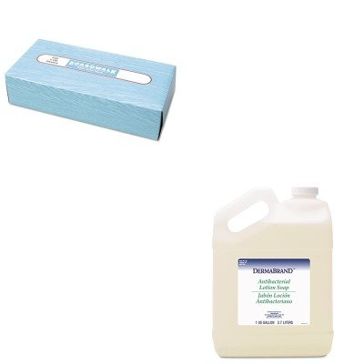 - KITBWK430CTBWK6500 - Value Kit - Dermabrand Antibacterial Liquid Soap (BWK430CT) and Boardwalk 6500 Two-Ply Facial Tissue (BWK6500)