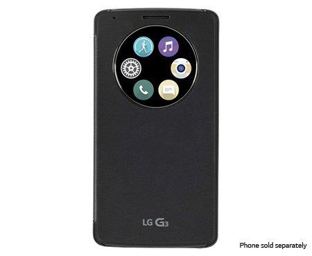 Amazon.com: LG G3 carga inalámbrica Quick Circle Funda Folio ...