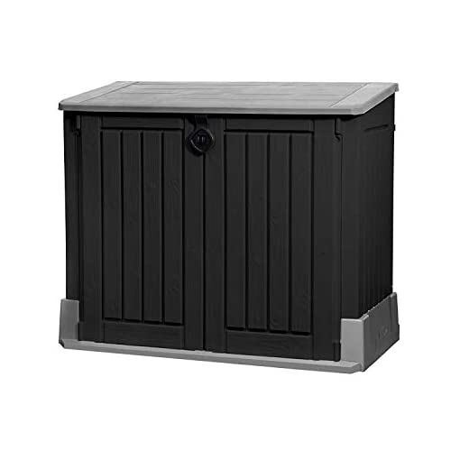 Keter Store It Out Midi Storage Shed Black and Grey