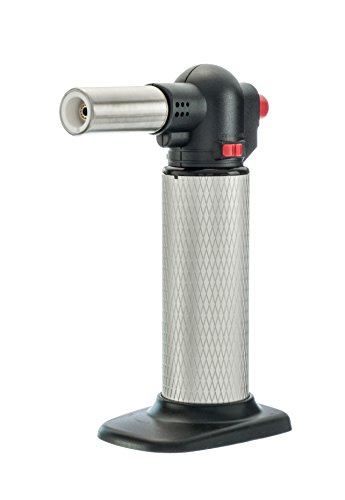 SE MT7706 Jumbo Butane Torch with Large Flame Nozzle, Silver & (Jumbo Torch)