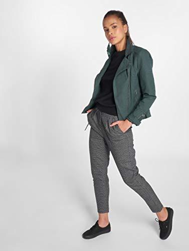 Faux CC Leather OTW Femme Vert Onlsaga Only Biker Blouson aF5UWSxqn
