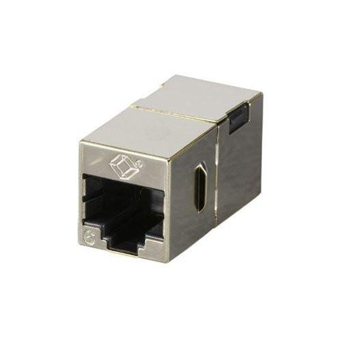 Cat6 Straight-Through Coupler, Shielded, ()