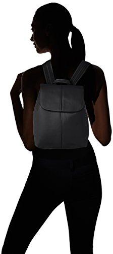 Bolsos black Pieces Mochila 17087903 Negro Mujer XXrzw