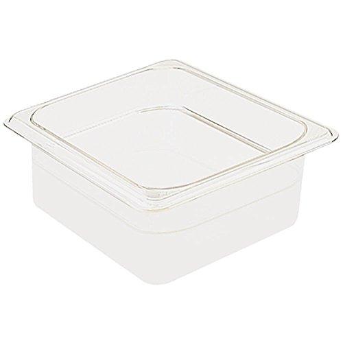 Cambro 62CW148 Camwear Food Pan plastic 1/6-size 2-1/2