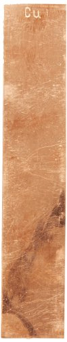 Ajax Scientific Copper Electrode Strip, 129mm Length x 25mm Width ()