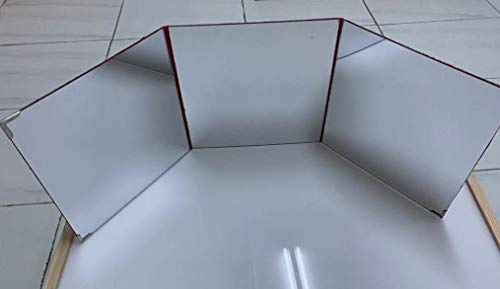 Espejo Triptico para caja y mesa de luz montessori: Amazon.es ...