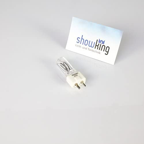 showking Set 5 x Studiolampen FRJ 240V / 500W / Sockel GY - 9,5 / 3200K / weiß - Film - / Fotobeleuchtung