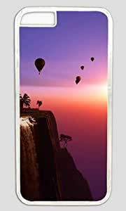 Beautiful Mountain View DIY Hard Shell Transparent iphone 6 Case Perfect By Custom Service