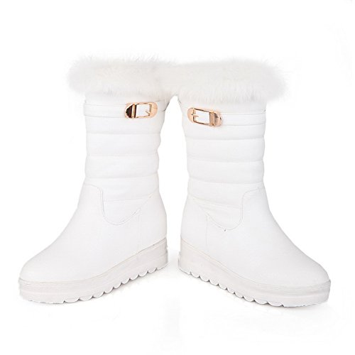 1TO9 - Stivali da Neve Donna, Bianco (White), 35