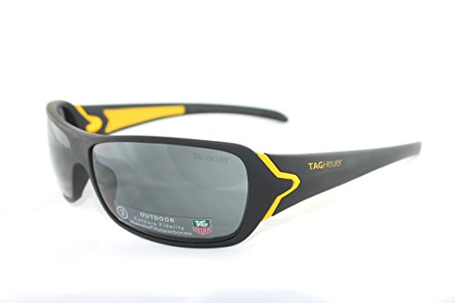 Beautiful TAGHEUER sunglasses, Black &yellow frame.polycarbonate lens - Tagheuer Sunglasses