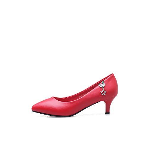 Red MMS06345 5 Sandales Femme Compensées Rouge EU 36 1TO9 Xv1a6pza