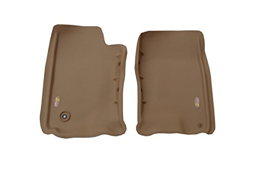 (Lund 402412 Catch-All Xtreme Tan Front Floor Mat - Set of 2)