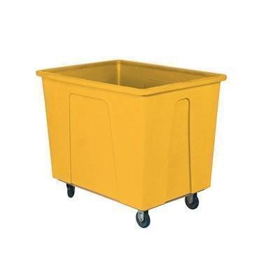 Wesco 272536 64 Gallon 8 Bushels Plastic Box Truck, 8
