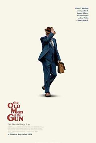 (The Old Man and The Gun Poster 27x40 Original D/S Movie Poster Robert Redford)