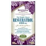 ReserveAge Resveratrol 250 MG, 60 Vegetarian Capsules, Health Care Stuffs
