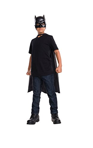 Rubie's Costume Batman v Superman: Dawn of Justice Kid's Batman Cape with Mask (Super Villain Costumes For Men)