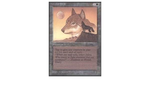Wyluli Wolf Played //// Arabian Nights //// MTG Magic the Gathering