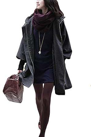 Amazon.com: Suvotimo Women Casual Winter Plus Size Hooded