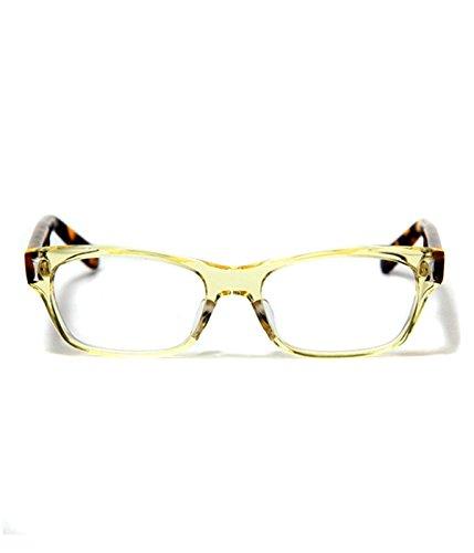 泰八郎謹製 (タイハチロウキンセイ)PREMIERE 5(タイハチロウキンセイ メガネ 眼鏡) B00YA938J2 ワンサイズ|クリアイエロー クリアイエロー ワンサイズ