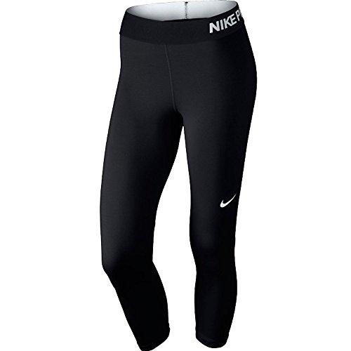Nike Womens Pro Cool Training Capris Black/White 725468-010 Size X-Small