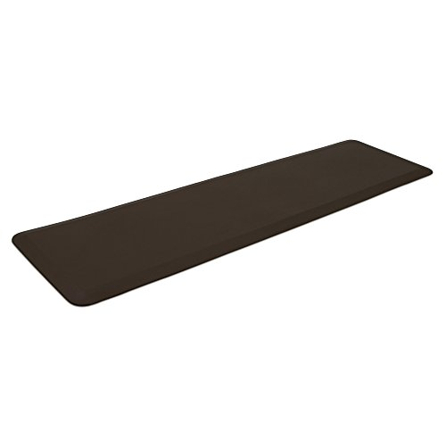 "NewLife by GelPro Professional Grade Anti-Fatigue Kitchen & Office Comfort Mat, 20x72, Earth ¾"" Bio-Foam Mat with non-slip bottom for health & wellness by NewLife by GelPro (Image #2)'"