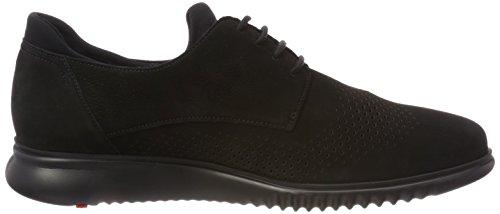 Lloyd Mannen Abott Sneaker Zwart (black)