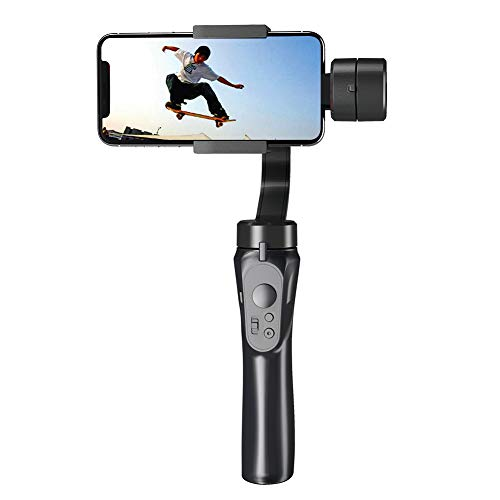 Halloween Time Lapse (Portable Gift Handhold Gimbal,Handheld Gimbal Stabilizer with Sport Inception Mode Face Object Tracking Motion Time-Lapse for iPhone and Android)