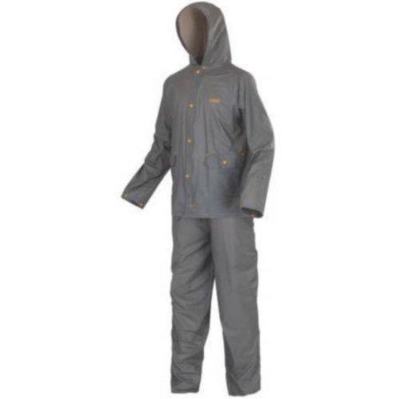 Price comparison product image Coleman PVC Rain Suit Grey Adult Medium