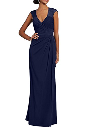 Missdressy - Vestido - Estuche - para mujer azul marino