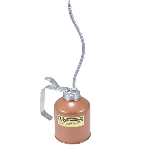GOLDENROD (727) Industrial Pump Oiler with Flex Spout - 16 oz. Capacity
