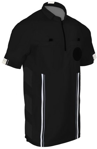 Total Soccer Factory NEW! 2018 Soccer Referee Jersey (2018 Black, Adult Medium)