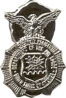 US Air Force Security Police Lapel Pin