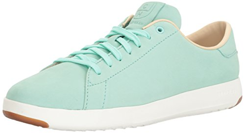 Cole Haan Women's Grandpro Tennis Fashion Sneaker, Beach Glass, 6.5 B - Haan Cole Dark Green