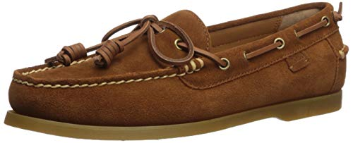 Polo Ralph Lauren Men's Millard Boat Shoe, New Snuff, 8.5 D US