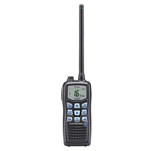 Icom M36 01 Floating Handheld 6W Marine Radio with Clear Voice Audio by Icom