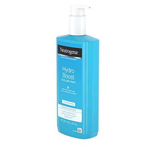 Neutrogena Hydro Boost Fragrance-free Hydrating Body Gel Cream, 16 Ounce