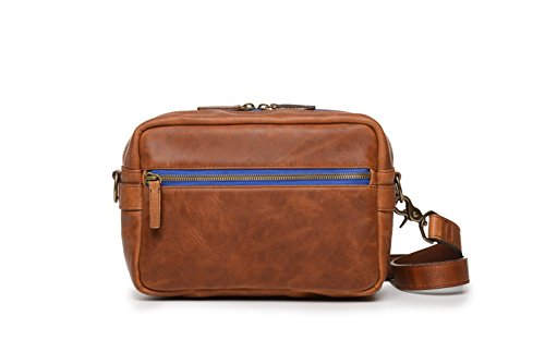 ONA - The Crosby - Camera Shoulder Bag - Antique Cognac Leat