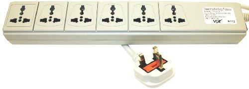 VCT Electronics Universal 6 Outlets 100 volt
