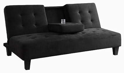 Amazon.com: Milton Greens Stars 7501BK Madrid Futon Sofa Bed with