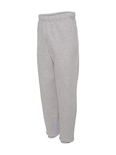 Jerzees 973 Adult NuBlend Sweatpants - Athletic Heather, Small